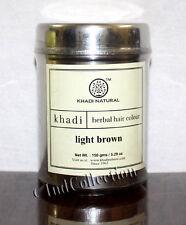 Khadi Natural Herbal Light Brown Henna Hair Color 150gm