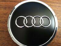 """Original Equip Audi 69mm """"Matte""""Center Cap 8T0601170ALT7 🇺🇸Seller!! Each 69mm"""