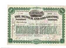 Denver and Rio Grande Railroad Company 1885 (versione RARE)