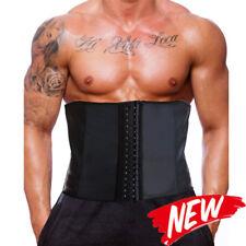 Men Body Shaper Sport Latex Waist Trainer Underbust Boned Cincher Shapewear Belt
