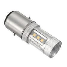 Phare Feux Ampoule Lampe Avant LED BA20D H6 H L 80W 6000K Bulb MOTO ATV