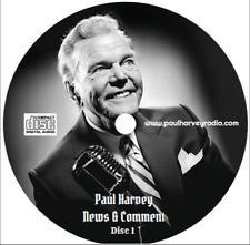 PAUL HARVEY - NEWS & COMMENT (100 SHOWS) 5 AUDIO CD'S