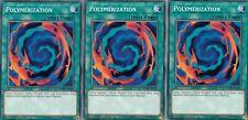 YUGIOH 3 X POLYMERIZATION - LEHD-ENA22 - 1ST EDITION
