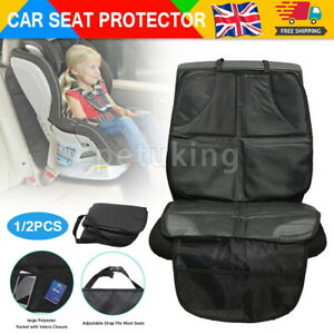 2X Car Baby seat Anti-Slip Mat Child Safety Waterproof Cushion Protector Cover