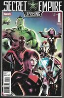 Secret Empire Comic Issue 1 Uprising Limited Variant Modern Age First Print 2017
