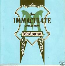 CD audio.../...MADONNA.../..THE IMMACULATE COLLECTION..../...