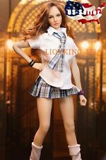 1/6 Sexy Female School Uniform Clothing Set A For Hot Toys Phicen Figure ❶USA❶