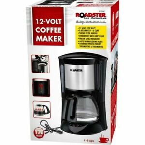 12V - 170W COFFE MACHINE ALL RIDE ELECTRIC COFFEE MAKER FOR 6 CUPS 81834
