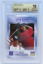 1996 Tiger Woods SI For Kids #536 Rookie RC BGS 10 Invest now Hot Hot !!!!!!!!!