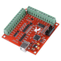 4 Axis CNC Controller MACH3 Ethernet Interface Board Card For Stepper Motor