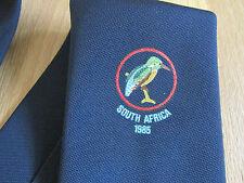 Afrique du sud 1985 cricket club cravate bleu fabriqué en grande-bretagne-voir photos