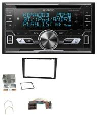 Kenwood AUX CD 2DIN MP3 Bluetooth USB Autoradio für Opel Corsa C Meriva Signum V