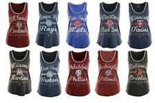 New MLB Women's Authentic Tradition Tank Top Shirt