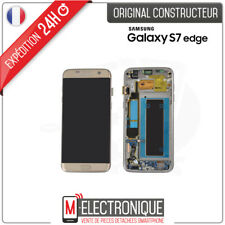 Ecran LCD Gold Original Samsung Galaxy S7 Edge G935