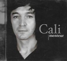 CD album: Cali: Menteur. Virgin. A1