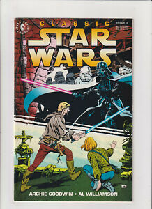 Classic Star Wars #4 VG/FN 5.0 Dark Horse Comics 1993 Darth Vader, Skywalker