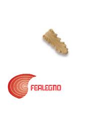FREGIO IN PASTA DI LEGNO PER MOBILI ANTICHI 70X30MM ART.MG10891 METAL STYLE