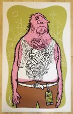 2003 Bumbershoot/Flatstock 3 Art Show - Silkscreen Poster by Ames Design