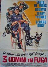 LA GRANDE VADROUILLE Italian 4F movie poster 55x79 LOUIS DE FUNES BOURVIL