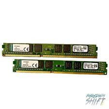 New listing Kingston 8Gb (2x4Gb) Ddr3 1600Mhz Vlp Desktop Memory Ram Kcp316Ns8/4