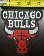"""Chicago Bulls 4.5"""" x 4.75"""" Iron/Sew On NBA Patch~~FREE SHIPPING FROM THE U.S.~~"""