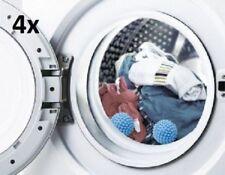 4 Pcs Natural Reusable Fabric Dryer Balls Laundry Softener No Chemicals