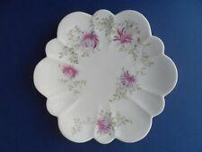 "Wileman Foley Shelley  ""Chrysanthemum"" 6891 Empire shape B&B plate. C.1895."