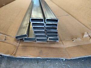 """316 stainless steel rectangular tubing 1/2"""" x 1-1/2"""" x 14 GA  72"""" long"""