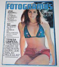 FOTOGRAMAS 1974 Edy Williams Jane Russell Suzi Quatro Linda Lovelace Raimon