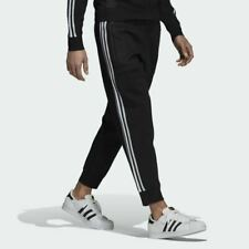 Adidas Men's Black Knitted 3/4 Track Pants (Retail $80)