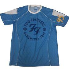 Foo Fighters Argentina 2012 Soccer/Football Jersey Band Concert Tee T-Shirt Sz L