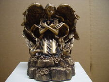 Eternal Reflections Composite Bronze Angel Cremation Urn Ashes
