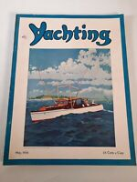 Vintage may 1936 Yachting magazine .Boating advertisements