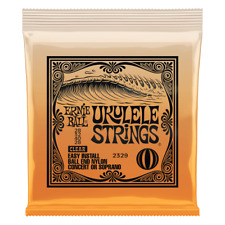 Ernie Ball Clear Ukulele strings P02329,Ball End, Legendary!!