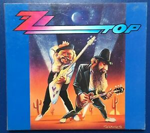 CD ZZ TOP BEARDS GETTING RHYTHM 941006 LUXEMBOURG 1994