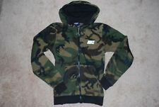 Men's Nike Air Swoosh Army Camo Zip Hoodie Sweatshirt (Small)