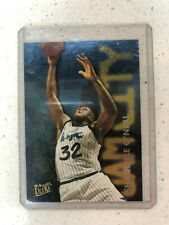 Shaquille O'neal 1995 96 Ultra JAM CITY INSERT #9 - one owner !