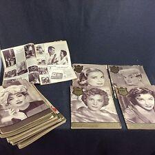 20x Film und Frau Zeitschrift Bekleidung Zeitung 1956 1957 Werbung Kino Fernsehe