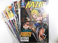 KA-ZAR Sammlung ( Vol.4 ) # 1,1A,2-20 + Annual 1997 komplett ( US Marvel )
