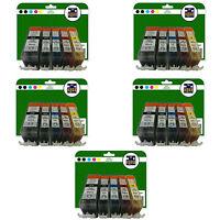 Qualsiasi 25 Cartucce Di Inchiostro per Canon Pixma MP540 MP550 MP560 MP620