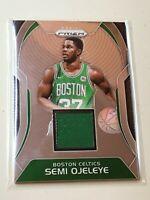 F41802  2017-18 Panini Prizm Sensational Swatches #35 Semi Ojeleye Celtics