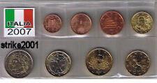 Euro ITALIA 2007 - 8 PZ FDC in Blister -