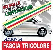 FASCIA ADESIVA TRICOLORE STRISCIA ITALIA BANDIERA TUNING AUTO RACING ABARTH 500