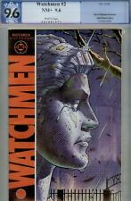 WATCHMEN #2- PGX *9.6-SUPER HIGRADE COPY- DC COMIC- 1986 ALAN MOORE STRY
