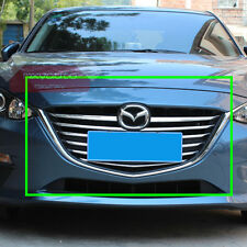 New Chrome Front Grille Grill Molding Cover Trim For Mazda 3 2014 15 2016 AXE