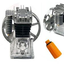 3hp Twin Cyclinder Air Compressor Head Pump Piston Cylinder Compressor Pump