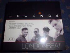 Legends LONDONBEAT inkl. I`ve Been Thinking About You, A Better Love 3CD RAR+NEU