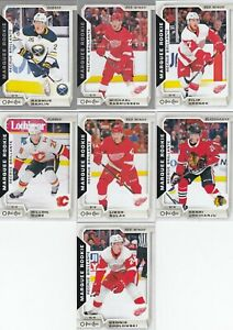 2018-19 O PEE CHEE  MARQUEE ROOKIE a lot of 7 DIFFERENTS CARDS   LOT 94    a