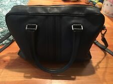 Tod's Blue Leather Medium Briefcase MSRP $2065