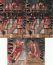 1995 Futera NBL Trading Cards SAMPLE Redemption Set Andrew Gaze/ Sam Mackinnon